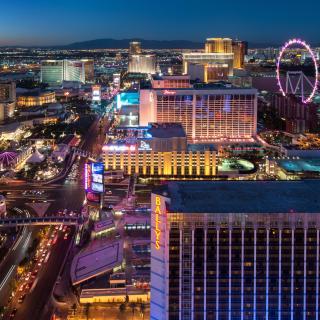 Zeit ist es in Las Vegas