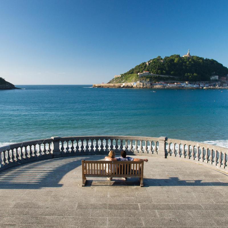 Los 30 mejores hoteles de en san sebasti n espa a for Hoteles con habitaciones familiares en san sebastian