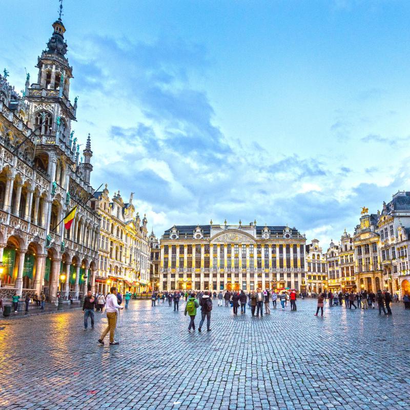 Les 30 meilleurs h tels bruxelles en belgique partir for Hotel a bruxelles