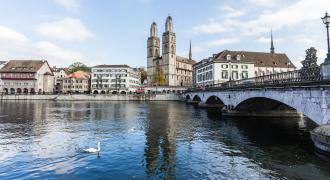 1. Zürich Gamla stan-Centrum