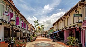 Kampong Glam (calle árabe)