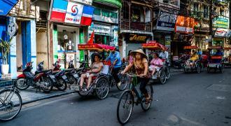 Barrio de mochileros de Hanoi