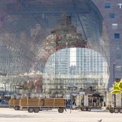 Complejo Empresarial y Comercial Markthal Rotterdam
