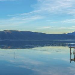 Mikri Prespa Lake