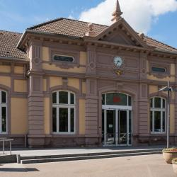Train Station Baden-Baden
