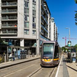 Luas Stop Central Park