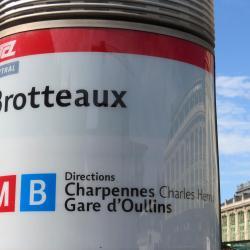 Métro Brotteaux