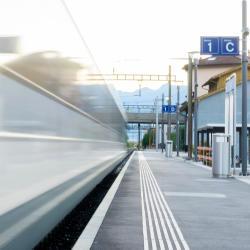 Locarno Train Station