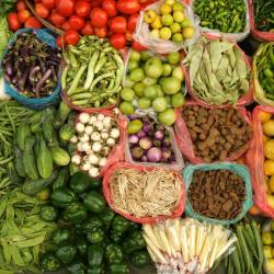 Nyaung U Market, Pagan