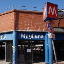 Станция метро EUR Magliana