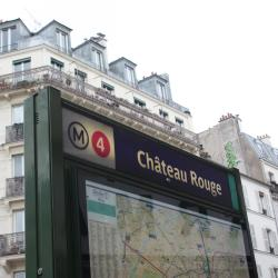 Château Rouge Metro Station