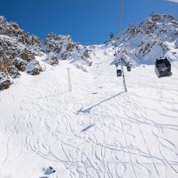 Saulire Express 1 Ski Lift