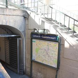 Lamarck-Caulaincourt Metro Station