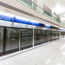 Estación de metro Dubai Airport Terminal 1