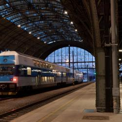 Železničná stanica Praha hlavní nádraží