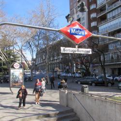 Santiago Bernabeu Metro Station