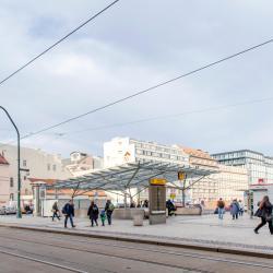 Stasiun Kereta Bawah Tanah Naměstí Republiky