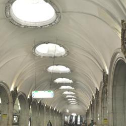 Paveletskaya Metro Station