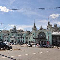 Weißrussischer Bahnhof