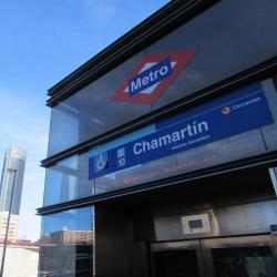 Estación de metro Chamartín