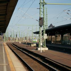 Train Station Weimar