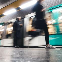 Couronnes Metro Station
