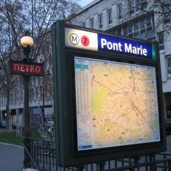 Métro Pont Marie