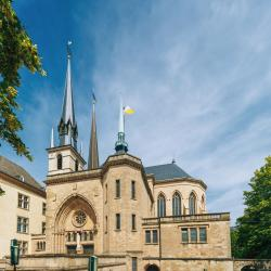 Notre Dame Cathedral Luxembourg, Luxembourg