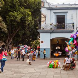 Downtown Oaxaca de Juarez