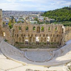 Friluftsteateret Herodes Atticus Odeion Irodion
