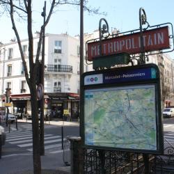 Marcadet - Poissonniers Metro Station