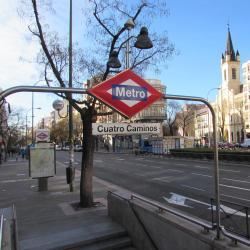 Cuatro Caminos Metro Station