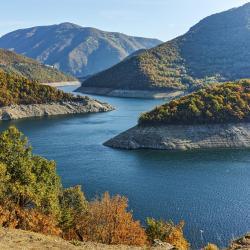 Zbiornik wodny Vacha Reservoir, Mikhalkovo