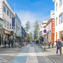 Laugavegur Shopping Street, Reykjavík