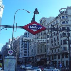 Plaza de España metro stotis