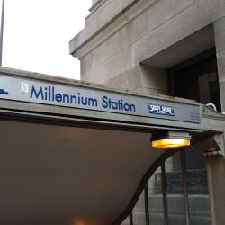 treinstation Millennium Station