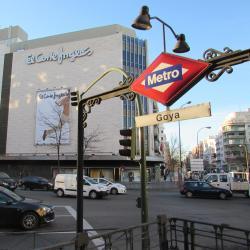 Станция метро Goya