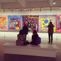 Louisiana Museum of Modern Art, Nivå
