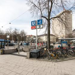 Rotkreuzplatz Metro Station