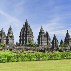 Prambanan-Tempel, Tempelanlage Prambanan