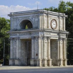The Triumphal Arch Chisinau