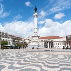 Piazza del Rossio, Lisbona