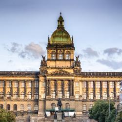 Historical Building of the National Museum of Prague