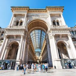 Galleria Vittorio Emanuele II passzázs