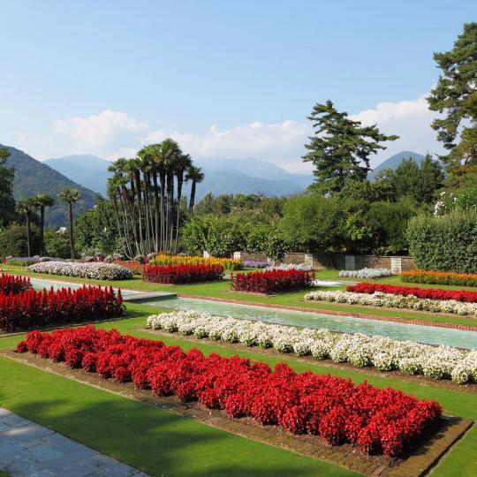 Villa Taranto's botanical gardens in Verbania