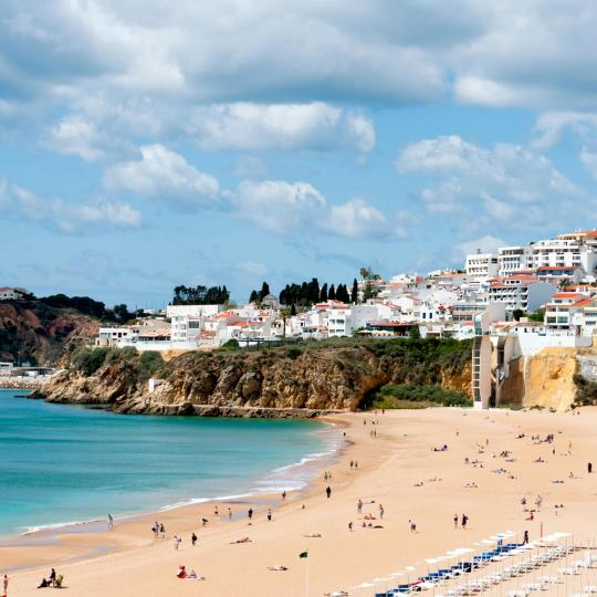 Albufeira's Old Town