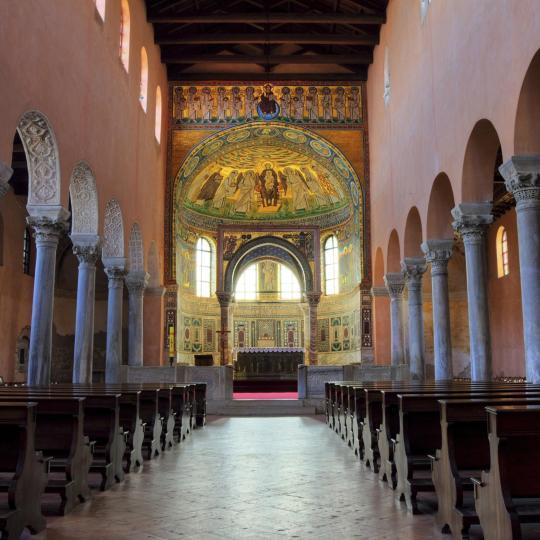 Евфразиева базилика, внесенная в список ЮНЕСКО