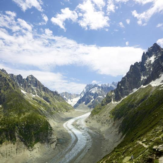 Mer de Glace and Montenvers Train