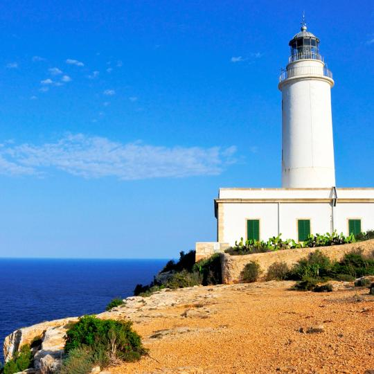 Leuchtturm Faro de la Mola