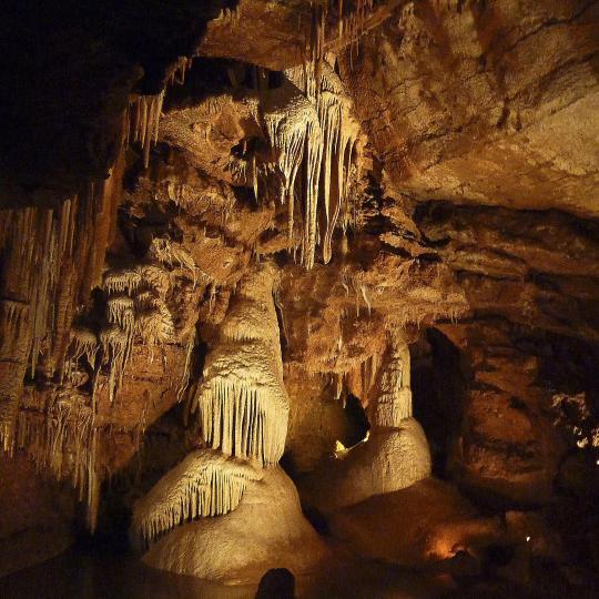 De grotten van Lacave